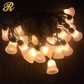 Special design led bell shaped string light for holiday decoration