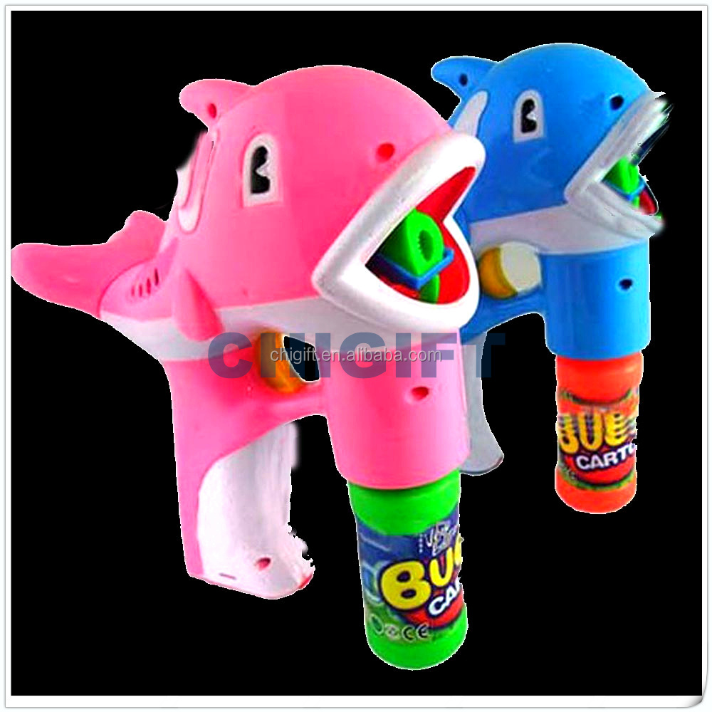 Gifts for Party LED Bubble Gun Fish