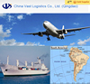 Flexible dhl freight schedule forwarder from China to Peru Brazil fast delivery logistics sea shipping air freight rates
