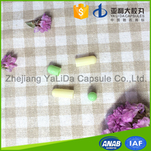 High Quality seperated gelatin healthy capsules size 1