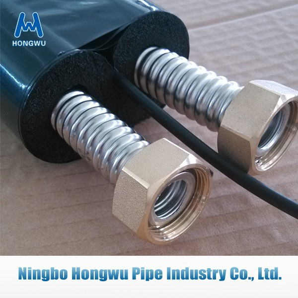 Flexible stainless steel tubing solar thermal insulation hose