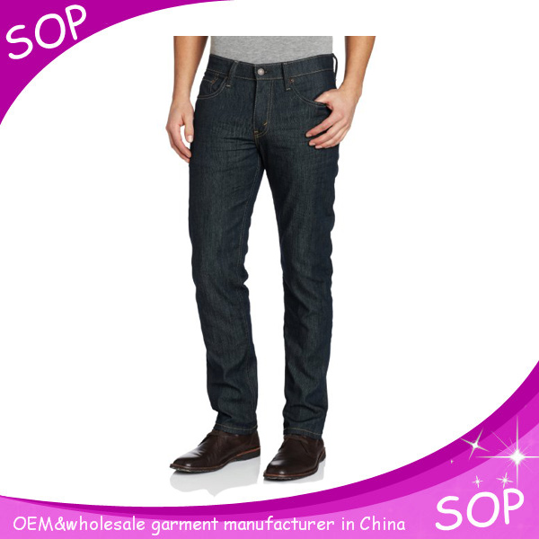 Alibaba china men's fashion jeans manufacture in guangzhou