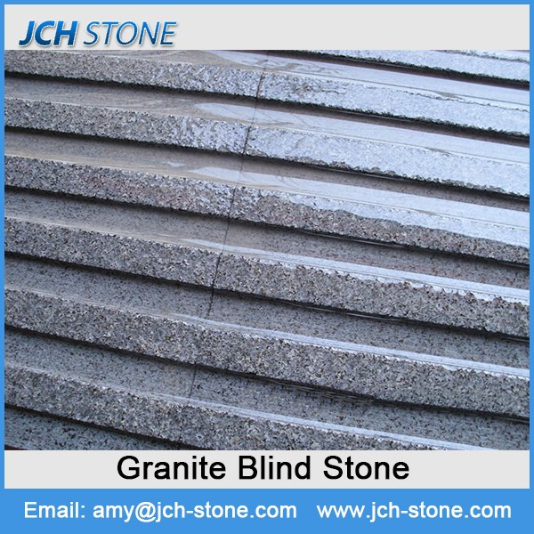 New design blind driveway stone raised granite stone slab