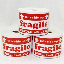 Best Selling Fragile Warning Sticker Fragile Handle With Care Labels Fragile Stickers For Shipping