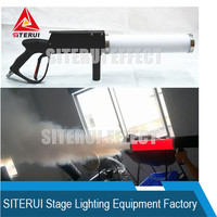 CO2 fog machine disco CO2 jet dj LED CO2 gun