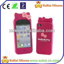 hello kitty silicone mobile phone protect case