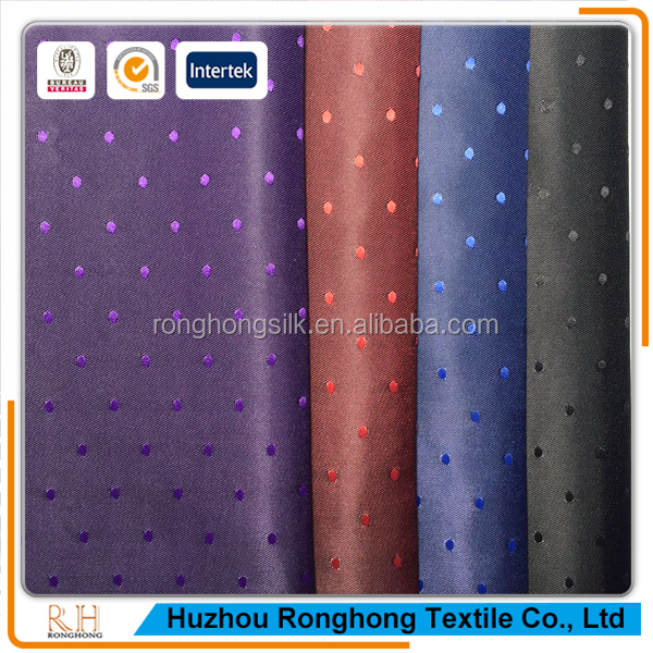 100% polyester spot jacquard lining fabric for garment,bag