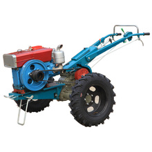 Cheap China agriculture usage walk behind 15 hp mini farm hand tractor in Turkey