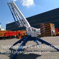 Factory supply 32M Concrete Placing boom with high quality and best price!