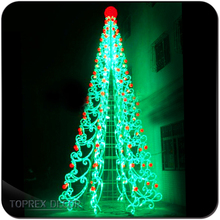 Christmas decoration artificial outdoor led tree light