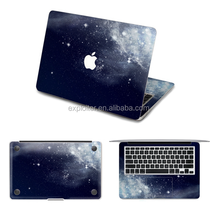 Removable diy jotter vinyl sticker for macbook retina 13 inch skin