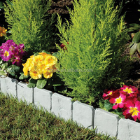 Recycled Plastic Garden Landscape Edging