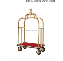Hotel Luggage Cart Wheels Service Trolley Types Of Service Trolley
