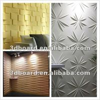 new material fireproof 3d wall panel home interior design