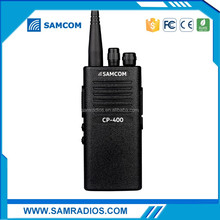 SAMCOM CP-400E CE ROHS with high power and 1800MaH battery 2 way radio transmitter price