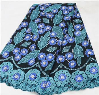 Promotion! Swiss yarn lace, Switzerland bud silk embroidery fabric for making bag free delivery