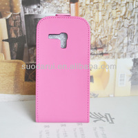 Slim Leather Flip Case Cover for Samsung Galaxy S3 mini i8190 Hot Sale 100% Perfect Fit