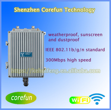 2.4GHz frequency, 2T2R protocol with 300Mbps data rate HW-AP60, outdoor wifi AP