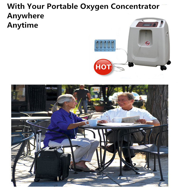 RM-5AH Nebulization used portable oxygen concentrator