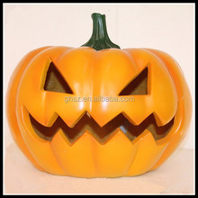 Custom Arts And Crafts Party Decoration Halloween Resin Pumpkins Outdoor
