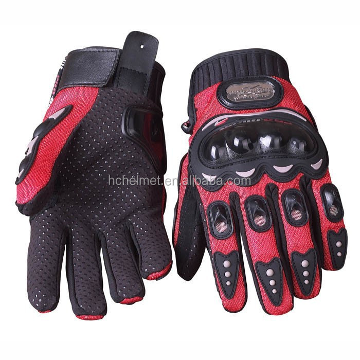 RIGWARL Protective Leather Black Motorbike Women Driving Gloves