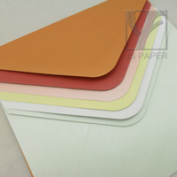 Colored Square Pearl Paper Invitation Envelopes