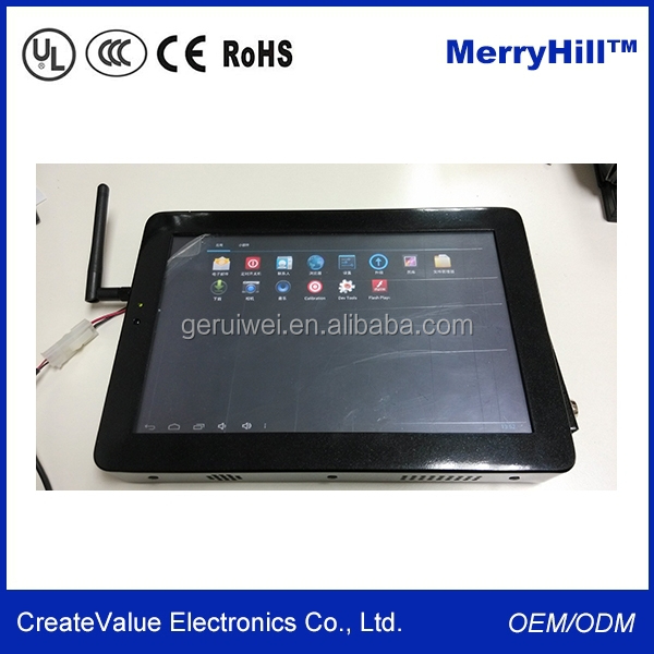 "10.1'' 12.1'' 15'' 17'' 19'' 22"" High Performance Touch Screen Embedded Fanless Industrial Android Tablet PC"