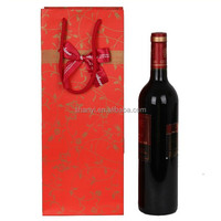 Mountain High quality leather wine carrier bag to box set