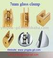 glass clip for 0-7mm glass or wooden shelf