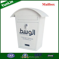 YL0011D Large Size Red post box with ippc stamp