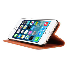 Wallet PU Leather Phone Case For Apple iphone 6S stand flip case cover