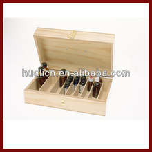 Elegance wooden essential oil box with lock