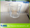 Clear Whisky Drinking Glass with Customized Logo