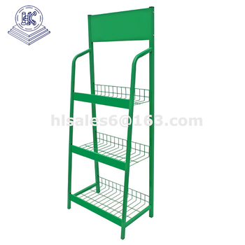 Multi-Tier Shop Standing Instant Noodles Display Rack