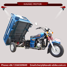 China 200cc engine cargo tricycle changeable motor toktok 4.50*12 3 wheels tricycle with advertising