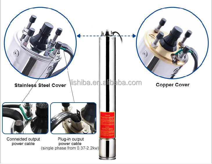 centrifugal submersible pump parts and submersible motor