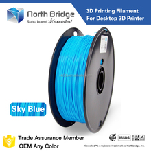 Kexcelled new plastic spool 3d printer printing filament ABS PLA 1.75mm