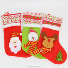 Factory Direct Sale More Popular Christmas Stockings For Embroidering