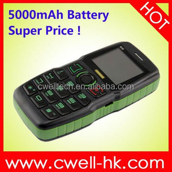 ADMET B30 Power Bank Dual SIM Card Senior Mobile Phone With Flashlight and Big Speaker