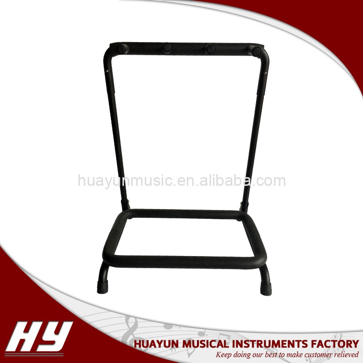Wholesale multi 4 way guitar stand rack for electric guitar and bass