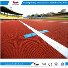 IAAF approved synthetic rubber track and field material stadium athletic track