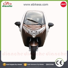 Adult Big Wheels Cargo Tricycle with Passenger Seats for Sale