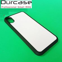 2D Blank Sublimation Mobile Phone Case For iPhone X Cover,OEM Customize Design Printing