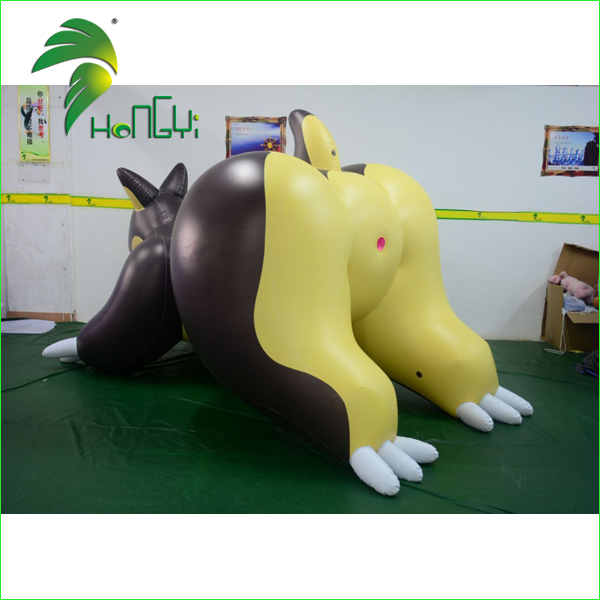 Hongyi Custom Inflatable Naked Girl Cartoon Characters For Men, Big Ass Sex Toy With Sexy SPH