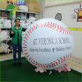 Large Advertising Decorative Floating Inflatable Custom Baseball Display Model