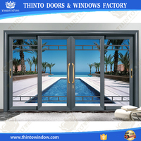 Hgh standard technology produce terrace sliding door hardware