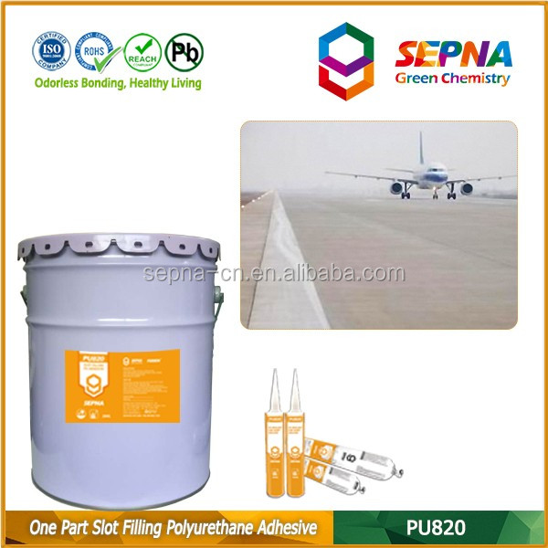 Hot Selling Concrete Road Sealant /Extremely Elastic PU Sealants for Airport Runway Joint Sealant