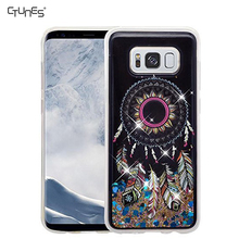 Moving Sand Liquid interior Shine Bling Sparkling Glitter TPU Case For Samsung Galaxy S8 Plus