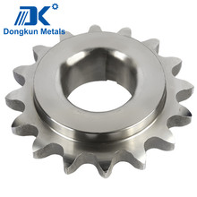 customized steel forging sprocket / steel forging chain wheel / steel forging gear