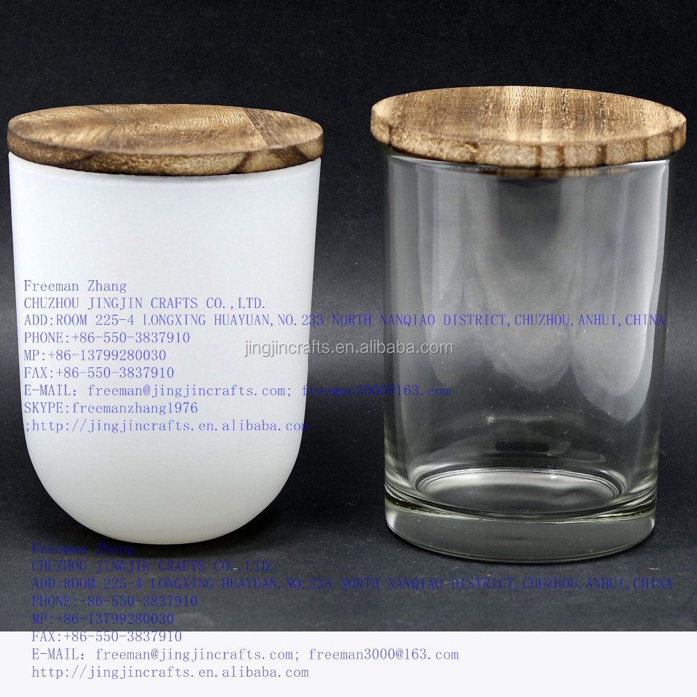 glass candle tumbler for candles/ unique shape glass candle tumbler round and square shape